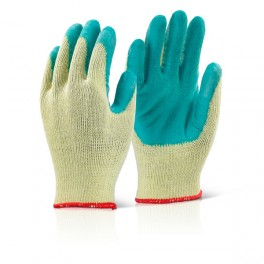 Contract Latex Palm Coated Builders Grip Glove (Case Of 100)