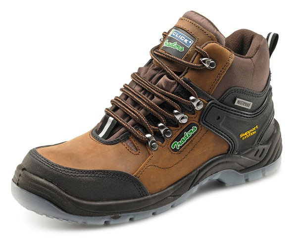 Hiker Safety Boot Brown
